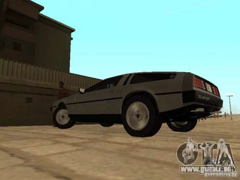 DeLorean DMC-12 1982 für GTA San Andreas linke Ansicht