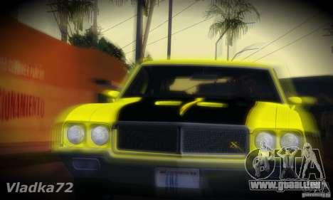 Buick GSX 1970 v1.0 pour GTA San Andreas sur la vue arrière gauche