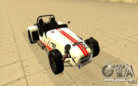 Caterham Superlight R500 für GTA San Andreas Räder