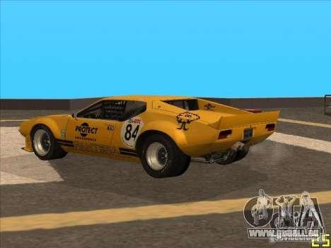 1972 DeTomaso Pantera pour GTA San Andreas laissé vue