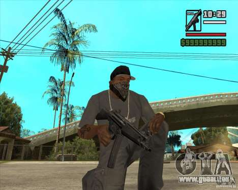 Millenias Weapon Pack für GTA San Andreas
