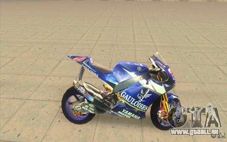 Yamaha M1 Edwards pour GTA San Andreas laissé vue