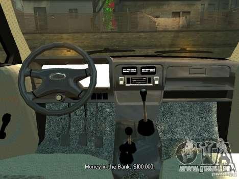 Niva Vaz 2131 pour GTA 4 est un droit