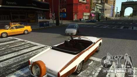 Buccaneer Final für GTA 4 Rückansicht