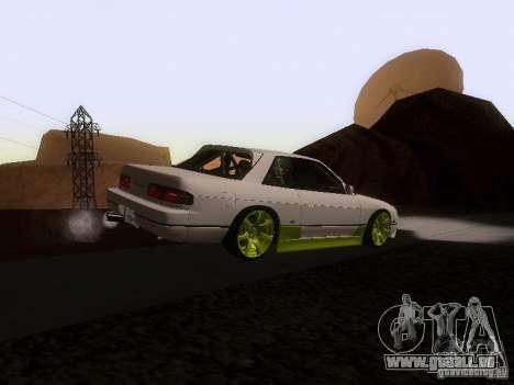 Nissan Silvia S13 Drift Style für GTA San Andreas zurück linke Ansicht
