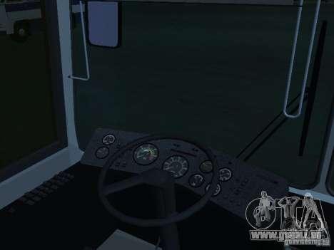 LAZ 52528 pour GTA San Andreas laissé vue