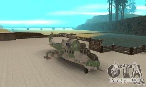 Ein Hubschrauber der globalen Konflikt-Schtorm für GTA San Andreas