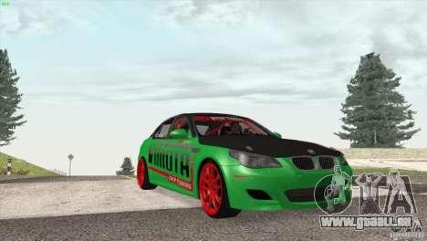 BMW M5 E60 Darius Balys für GTA San Andreas Innenansicht