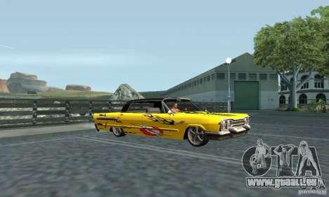Vinyle pour savane pour GTA San Andreas sur la vue arrière gauche