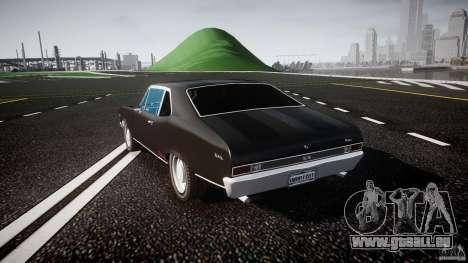 Chevrolet Nova 1969 pour GTA 4 Vue arrière de la gauche