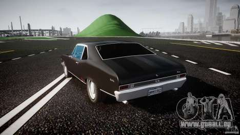 Chevrolet Nova 1969 für GTA 4 hinten links Ansicht