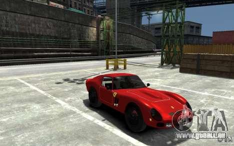 Ferrari 250 Le Mans für GTA 4 Rückansicht
