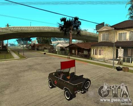 UAZ 469 Parade pour GTA San Andreas laissé vue