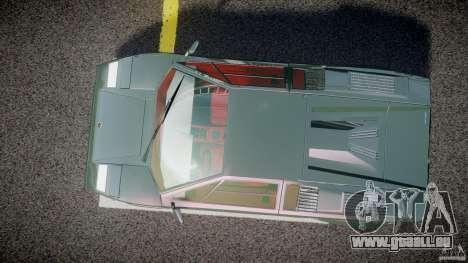 Lamborghini Countach v1.1 pour GTA 4 est un droit