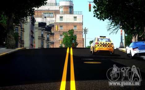 Different HD Roads pour GTA 4 secondes d'écran