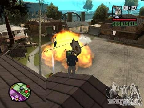 Cuvette de toilette pour GTA San Andreas quatrième écran