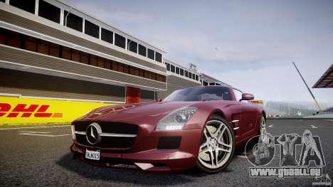 Mercedes-Benz SLS AMG 2010 [EPM] pour GTA 4