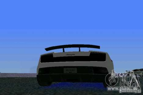 Lamborghini Gallardo LP570 SuperLeggera für GTA Vice City rechten Ansicht