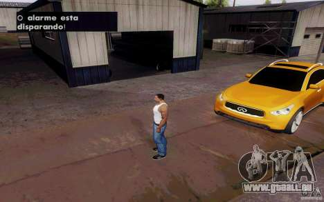 Alarme Mod v4.5 pour GTA San Andreas cinquième écran