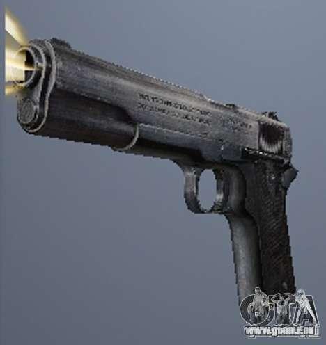 Une série d'armes de stalker V2 pour GTA San Andreas cinquième écran