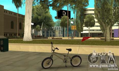 Nouveau BMX pour GTA San Andreas laissé vue