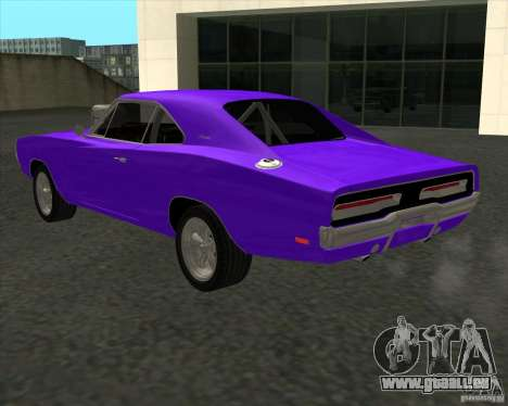 Dodge Charger RT 1970 The Fast and The Furious pour GTA San Andreas vue intérieure