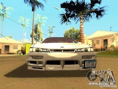 Nissan 200SX JDM pour GTA San Andreas sur la vue arrière gauche