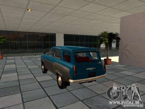 Moskvitsch 423 für GTA San Andreas zurück linke Ansicht