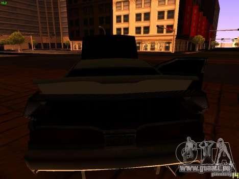 New Racing Style Fortune pour GTA San Andreas vue de dessous