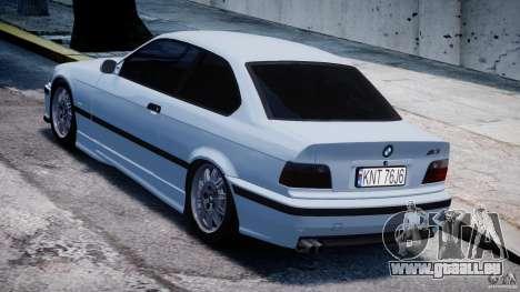BMW M3 e36 für GTA 4 hinten links Ansicht
