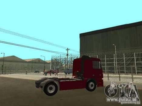 Mercedes Actros Tracteur 3241 pour GTA San Andreas vue de droite