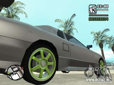 Elegy First Update By reNz für GTA San Andreas linke Ansicht
