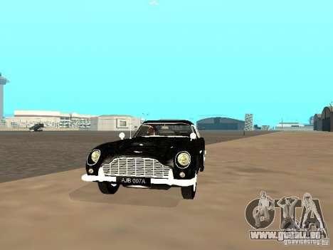 Aston Martin DB5 für GTA San Andreas linke Ansicht