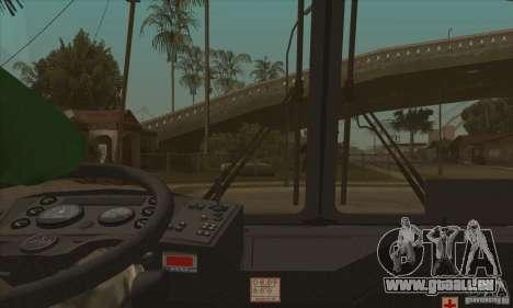 MAZ-152A für GTA San Andreas obere Ansicht