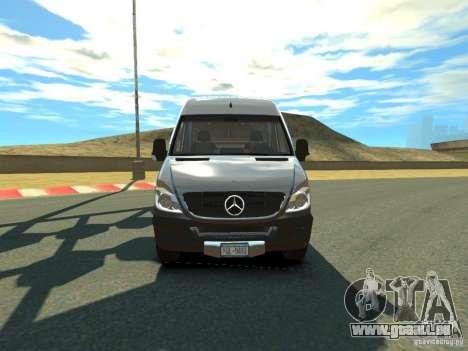 Mercedes-Benz Sprinter 2500 pour GTA 4 est une gauche