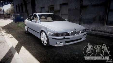 BMW M5 E39 Stock 2003 v3.0 pour GTA 4 est une vue de l'intérieur