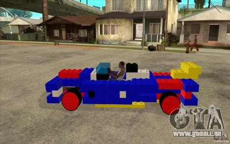 LEGO-mobile für GTA San Andreas linke Ansicht