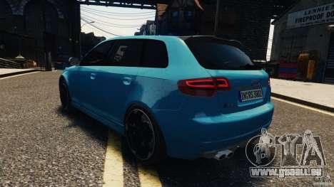 Audi RS3 Sportback V1.0 für GTA 4 Innenansicht