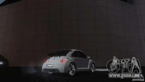 Volkswagen Beetle Tuning für GTA San Andreas zurück linke Ansicht