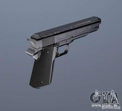Le nouveau pistolet GTA Vice City pour la deuxième capture d'écran