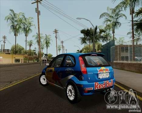 Ford Fiesta ST Rally pour GTA San Andreas vue de droite