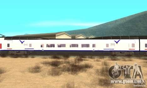 Express Train für GTA San Andreas zurück linke Ansicht