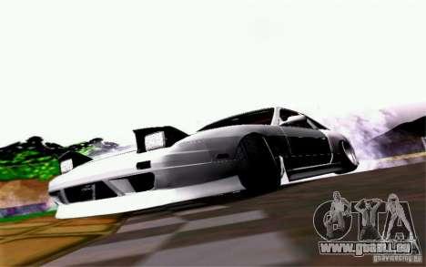Nissan S13 Onevia pour GTA San Andreas vue arrière
