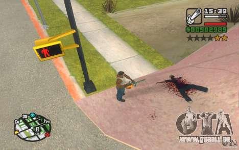 Nouveaux effets pour GTA San Andreas deuxième écran