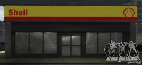 Shell Petrol Station für GTA 4 sechsten Screenshot