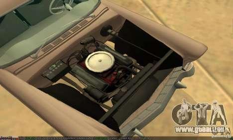 Chevrolet Bel Air Nomad 1956 pour GTA San Andreas vue de droite