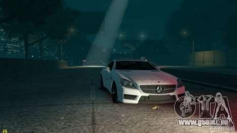 Mercedes-Benz SLK55 R172 AMG 2011 v1.0 für GTA 4 Rückansicht