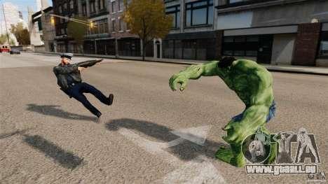 Script de Hulk pour GTA 4 sixième écran
