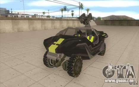 Halo Warthog für GTA San Andreas