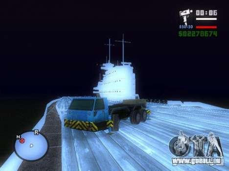 Split Second - Static Truck für GTA San Andreas zurück linke Ansicht